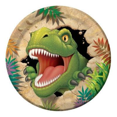 Dinosaur Adventure Dinner Plates (8-pack)