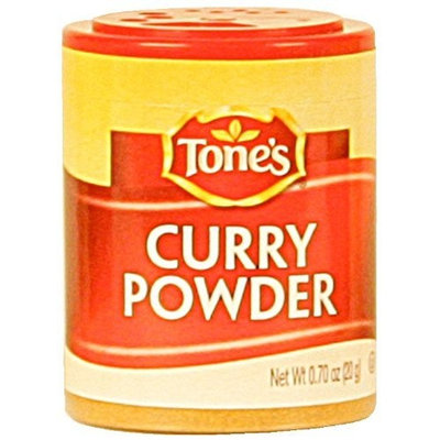 Tone's Mini's Curry Powder, 0.70 Ounce (Pack of 6)
