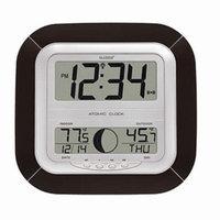 La Crosse Technology Digital Atomic Wall Clock, Moon, 1 ea