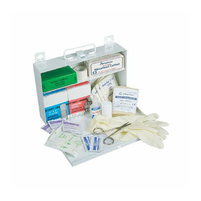 Swift First Aid 25 Person First Aid Kits - #25 standard plastic w/gasket