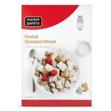 market pantry Market Pantry Cereal Frosted Shredded Wheat 18oz