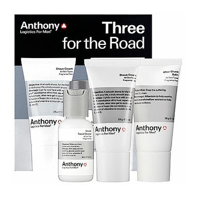 Anthony Logistics For Men Three For The Road