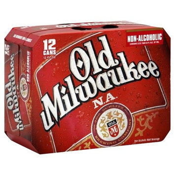 Milwaukee N.A. Non-Alcoholic Beer, 12 fl oz, 12 pack