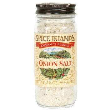 Spice Islands Onion Salt, 2.8-Ounce (Pack of 3)