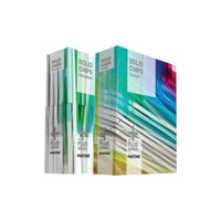 Pantone GP1503 SOLID CHIPS Coated & Uncoated Reference Printed Book