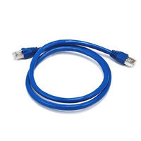 Monoprice 3FT 24AWG Cat6A 500MHz STP Bare Copper Ethernet Network Cable - Blue