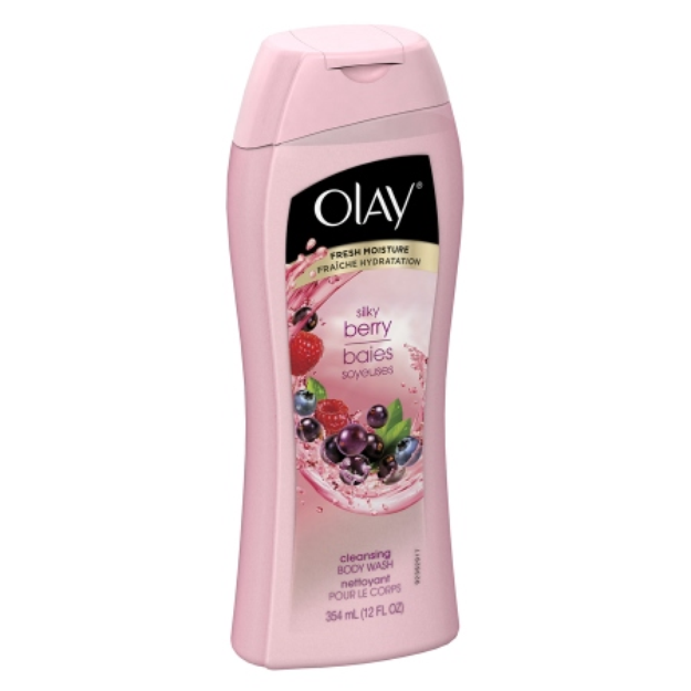 Olay Cleansing Body Wash Silk Berry