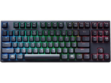 MasterKeys Pro S with Intelligent RGB and CHERRY MX Red Switches by Cooler Master