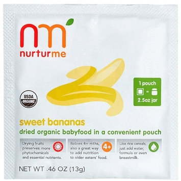 NurturMe Stage 1 Dry Baby Food - Sweet Bananas - 0.46 oz - 8 pk