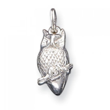 Cellini, Inc goldia Sterling Silver Owl Charm