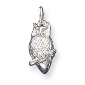 Cellini, Inc goldia Sterling Silver Owl Charm