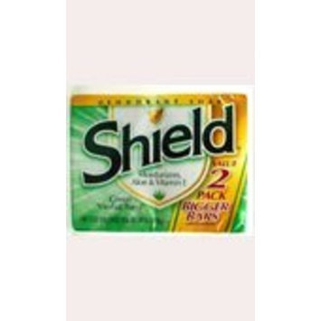 Shield 2-pack Bar Soap Green Herbal Burst - 4.75 Oz Each