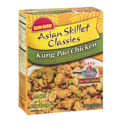 Sun-Bird Asian Skillet Classics Sauce Blend Kung Pao Chicken