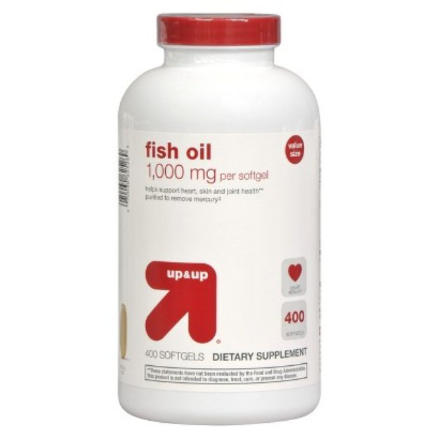 up & up up&up Fish Oil 1000 mg Softgels - 400 Count