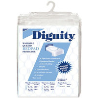 Dignity Washable Quilted Chair Pad & Bedpad Protectors 34 x 54 inch