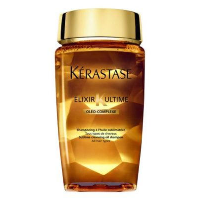 Kerastase Elixir Ultime Sublime Cleansing Oil Shampoo, 8.5 fl oz