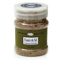 Artisan Salt Co. Fumee De Sel Chardonnay Oak Smoked Sea Salt, 7.5 Ounce Jar