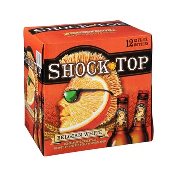 Shock Top Belgian White Wheat Ale - 12 PK