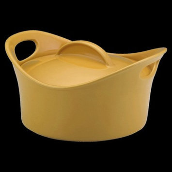 Rachael Ray Round Casserole with Lid - Yellow (2.75 Qt)