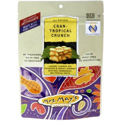 Mrs Mays Mrs. Mays Cran-Tropical Crunch, 2-Ounce Bags (Pack of 24)