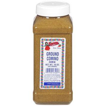 Fiesta Brand Ground Comino (Cumin), 16 oz jar