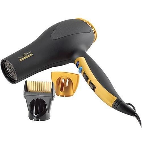 Gold N' Hot Gold N Hot GH2252B 1875 Watt Professional Turbo Boost Ionic Hair Dryer