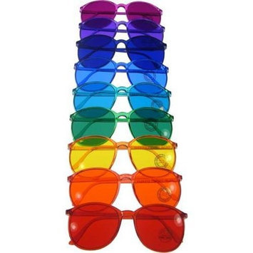 Biowaves Color Therapy Glasses Round Style Set of 9 Colors Also Available in Set of 7