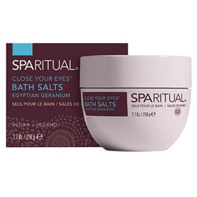 Sparitual SpaRitual Close Your Eyes Bath Salts, 7.7 oz