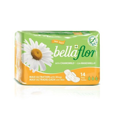 Bella Flor Maxi Ultrathin Pads with Wings