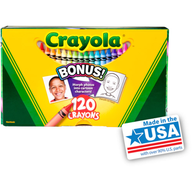 Crayola 120ct Crayon Box
