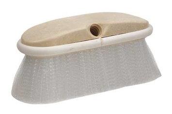 WASH-N-SCRUB 90514 Wash-N-Scrub Brush,8 In Blck,2 In Trm