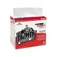 Brawny Industrial Medium-duty Airlaid 1/4-fold Wipes