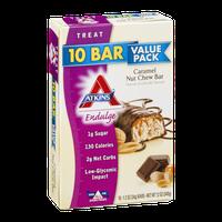 Atkins Endulge Value Pack Caramel Nut Chew Bar - 10 CT