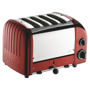 Dualit Red Large NewGen Toaster - 14x9x8