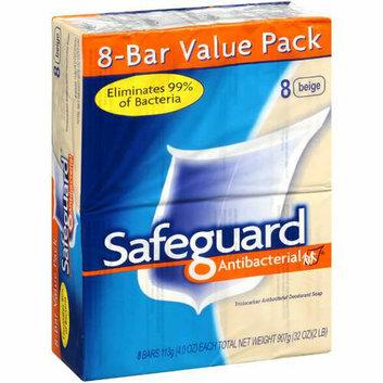 Safeguard Antibacterial Safeguard Bar Soap Antibacterial Beige 8 Bars