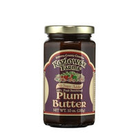 Kozlowski Farms Butter with No Sugar Added, Plum, 10.0-Ounce (Pack of 6)