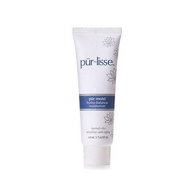 pur-lisse pur~moist hydra-balance moisturizer