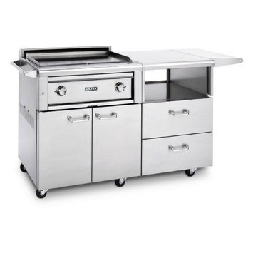 Lynx Professional 30 in. Asado Grill with Mobile Kitchen Cart