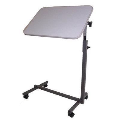 MedMobile Tilt Top Hospital Overbed/Over Bed Top Table Computer Laptop Table