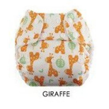 Swaddlebees Econappi Diaper Snaps, Giraffe