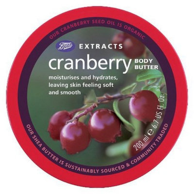 Boots Extracts Cranberry Body Butter - 6.7 oz