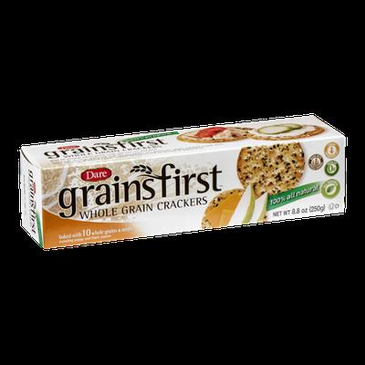 Grains First Whole Grain Crackers