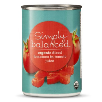 Simply Balanced Simply Balance Organic Diced Tomatoes 14.5oz