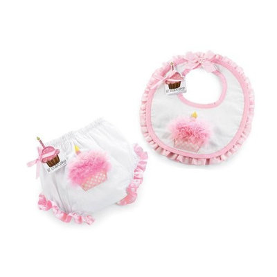 Mud Pie Cupcake Bib and Bloomers