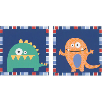 CoCaLo CoCo & Company Monster Buds Wall Art, Set of 2