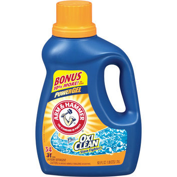 ARM & HAMMER™ Power Gel Liquid Laundry Detergent Plus OxiClean Stain Fighters