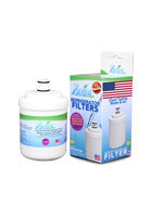 LSXS26326B Compatible Refrigerator Water and Ice Filter by Zuma Filters-(4 Pack)