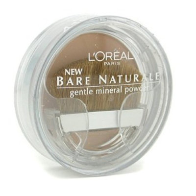Bare Naturale Gentle Mineral Powder Compact with Brush - No. 418 Buff Beige - L'Oréal - Powder - Bare Naturale Gentle Mineral Powder Compact with Brush - 9.5g/0.33oz
