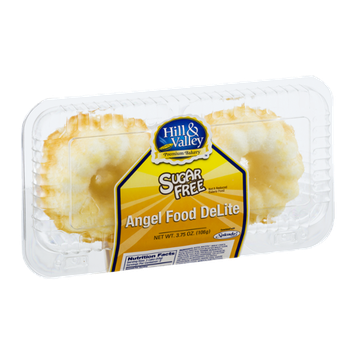 Hill & Valley Angel Food DeLite Sugar Free - 2 CT