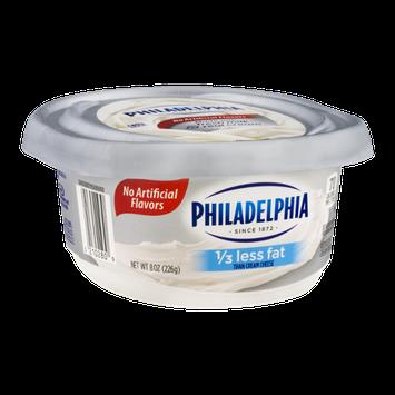Philadelphia Cream Cheese 1/3 Less Fat